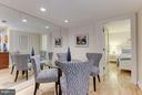 Dining Room for celebrating or everyday dining. - 1830 JEFFERSON PL NW #1, WASHINGTON