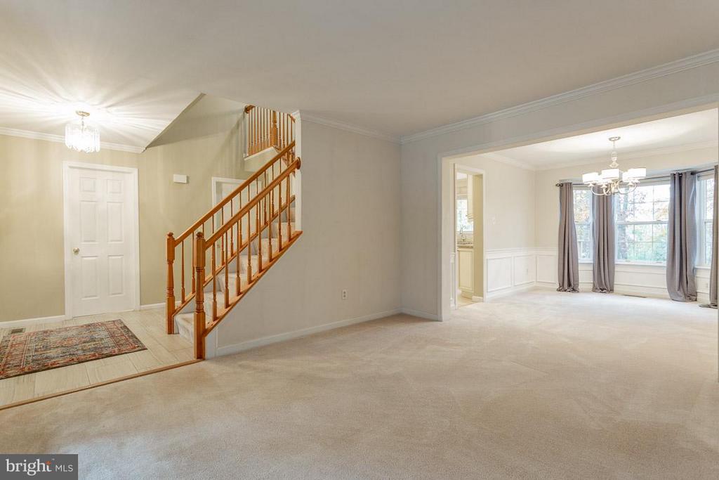 Living Room - 10565 WINGED ELM CIR, MANASSAS