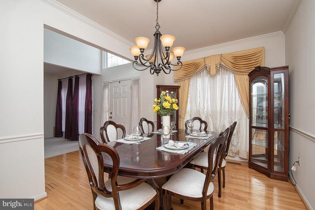 Dining Room - 3004 VIDALIA CT, DUMFRIES