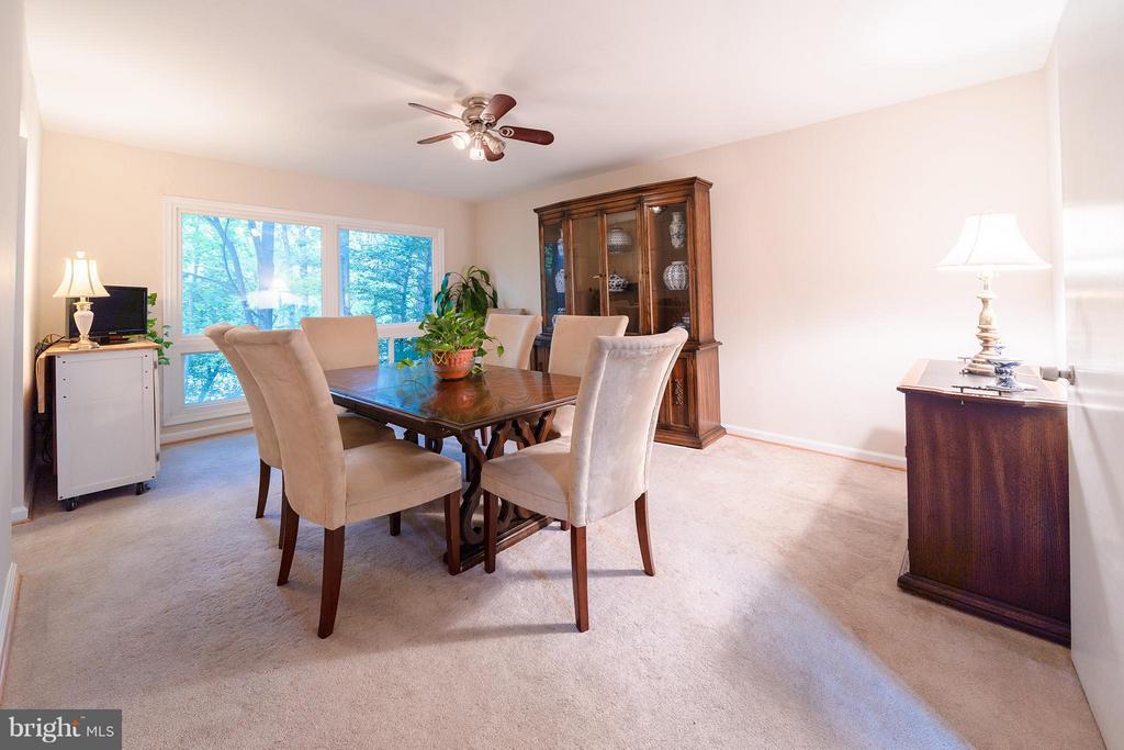 Dining Room - 11644 MEDITERRANEAN CT, RESTON