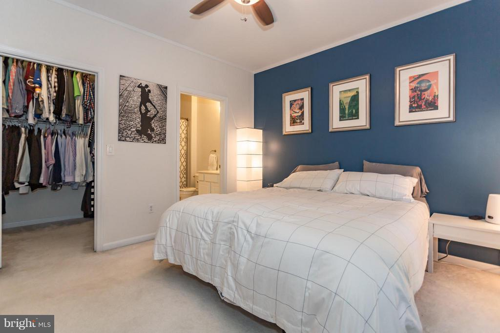 Large closet and en-suite master bath - 11314 WESTBROOK MILL LN #303, FAIRFAX