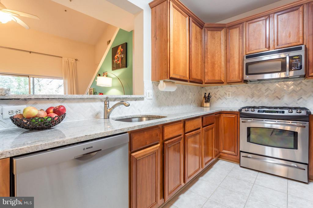 Bosch appliances, large sink, and more! - 11314 WESTBROOK MILL LN #303, FAIRFAX