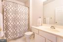 Spacious en-suite bathroom with tub - 11314 WESTBROOK MILL LN #303, FAIRFAX
