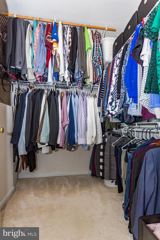 Room for your belongings in the master closet - 11314 WESTBROOK MILL LN #303, FAIRFAX