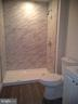 Brand New Basement Bath in In-Law Suite - 43341 CEDAR POND PL, CHANTILLY