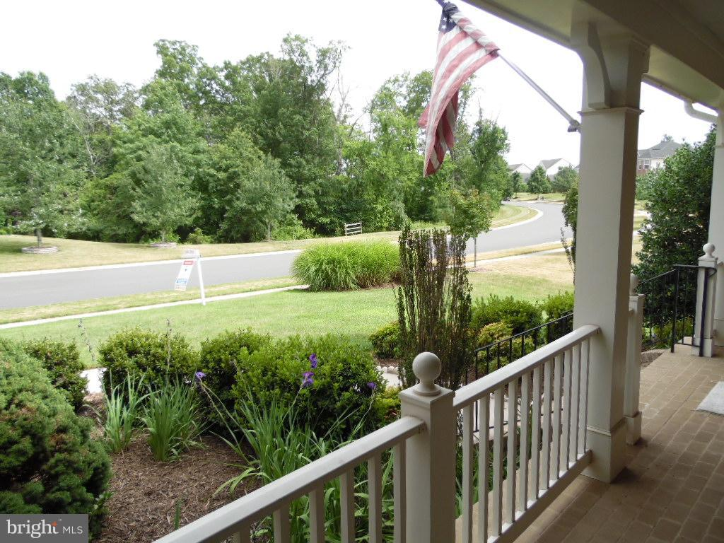 Front Porch with Treed View - Trees on ALL sides! - 43341 CEDAR POND PL, CHANTILLY