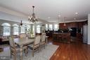 Large kitchen for entertaining! - 40710 JADE CT, LEESBURG