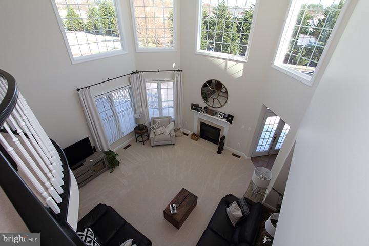 View of family room from upper level - 40710 JADE CT, LEESBURG