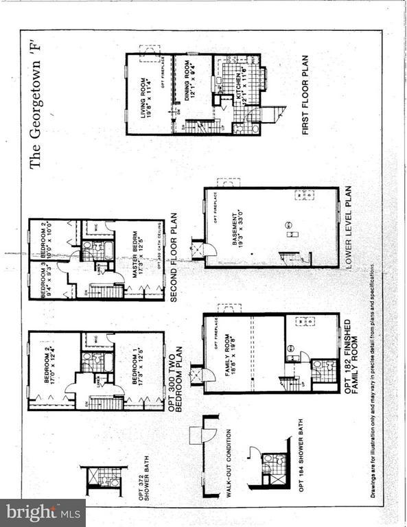 The Georgetown Floorplan - 43979 CHOPTANK TER, ASHBURN