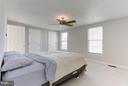Master bedroom has two closets - 43979 CHOPTANK TER, ASHBURN