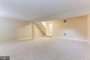 Huge rec room with new carpet. - 43979 CHOPTANK TER, ASHBURN