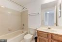 Upstairs hall bath. - 43979 CHOPTANK TER, ASHBURN