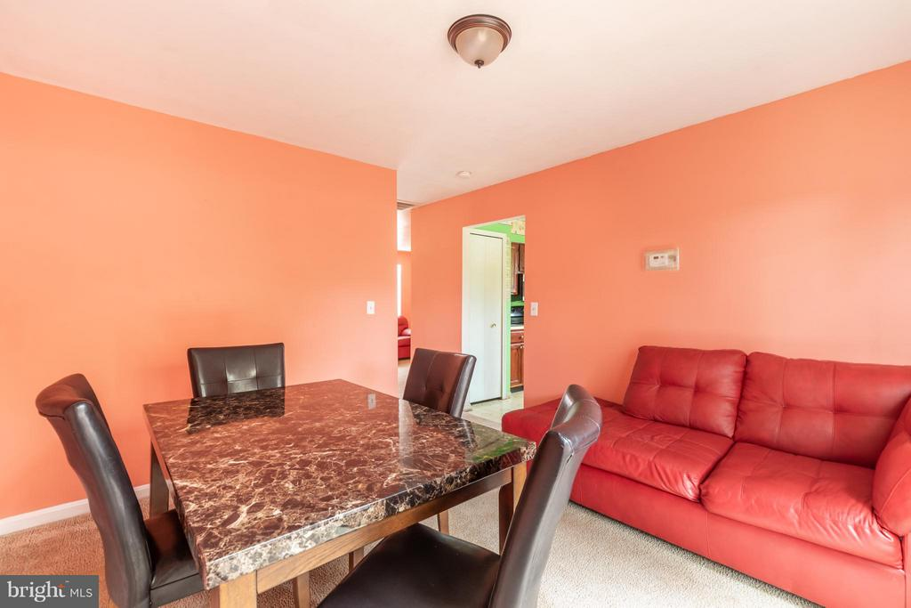 Dining Room - 7810 GATESHEAD LN, MANASSAS