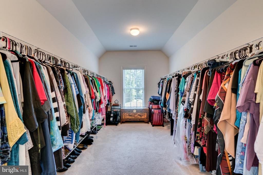 1 of 2 Walk-in Master Closets - 12802 MACINTYRE CT, FREDERICKSBURG