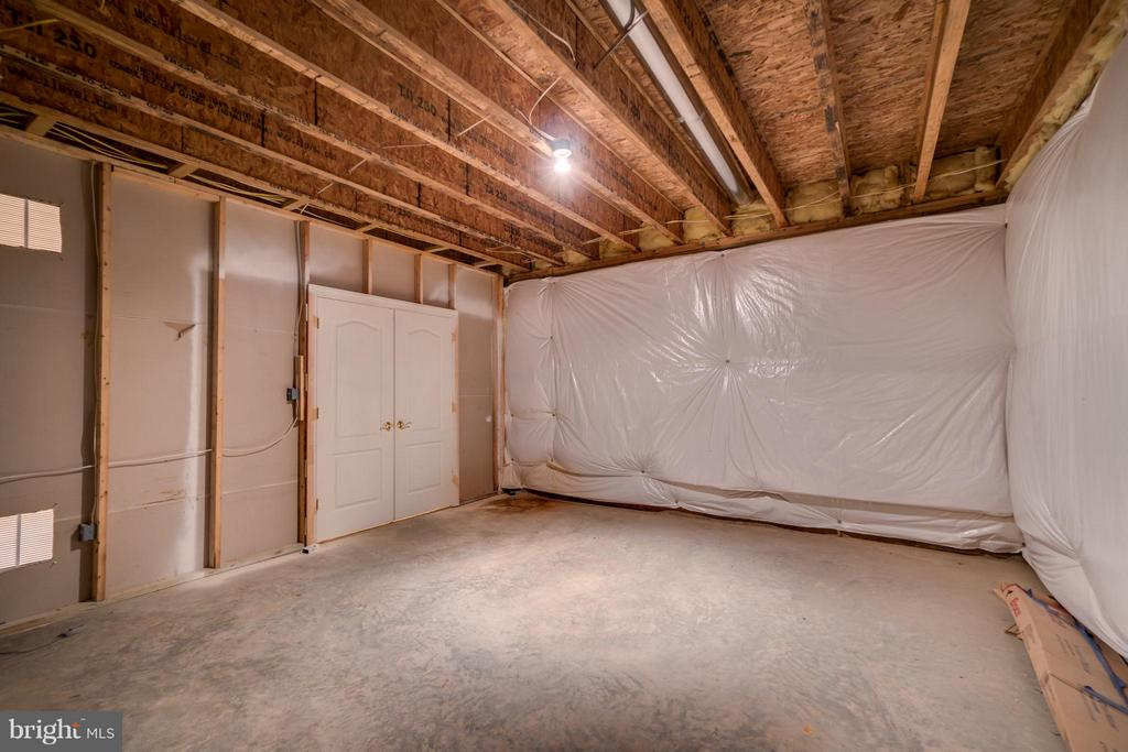 Additional room to expand in the basement - 12802 MACINTYRE CT, FREDERICKSBURG