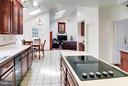 Kitchen - 9009 COPPERLEAF LN, FAIRFAX STATION