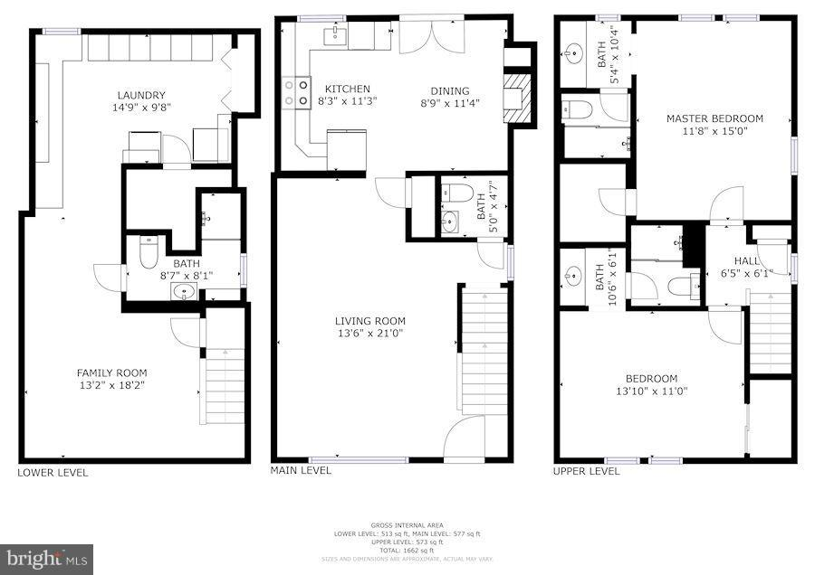 Floor Plan - 2542D ARLINGTON MILL DR, ARLINGTON