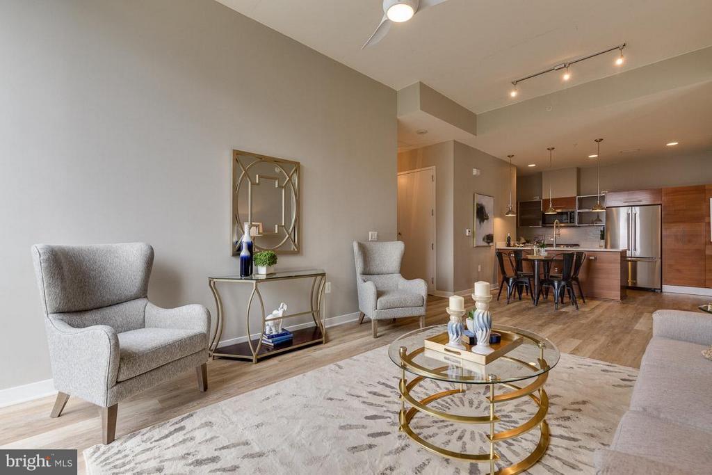 Living Room - 12025 NEW DOMINION PKWY #222, RESTON