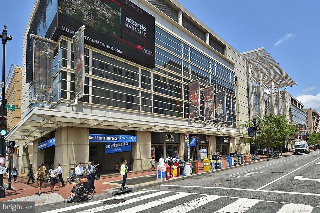 One Block from Capital One Arena - 616 E ST NW #804, WASHINGTON