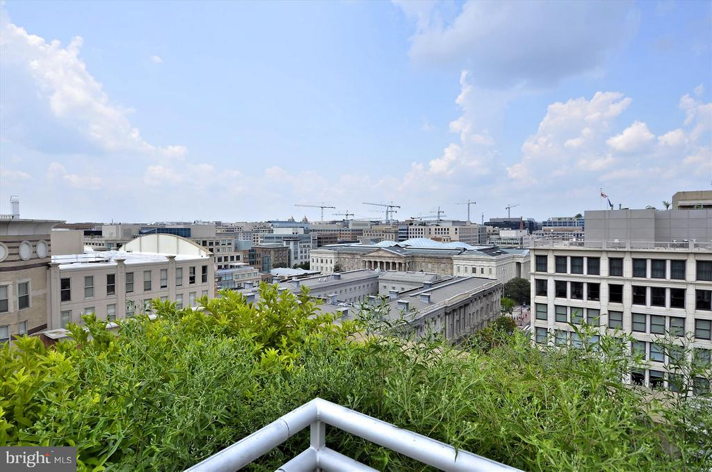 Spectacular Views from Rooftop Deck - 616 E ST NW #804, WASHINGTON