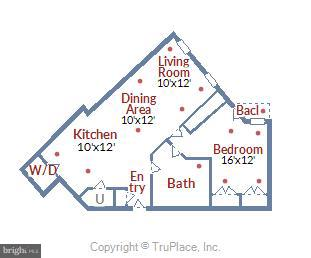 Floorplan - 616 E ST NW #804, WASHINGTON