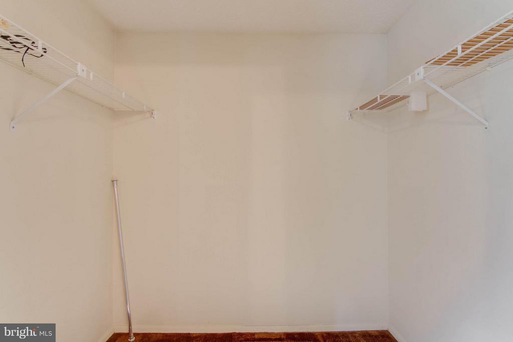 Spacious Walk-In Master Closet - 9811 FAIRMONT AVE, MANASSAS