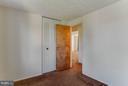 Second Bedroom - 9811 FAIRMONT AVE, MANASSAS