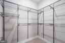 Walk-in Closet - 1628 11TH STREET NW #101, WASHINGTON