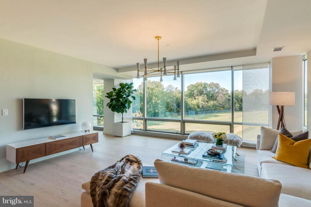 Living Room - 2501 M ST NW #411, WASHINGTON