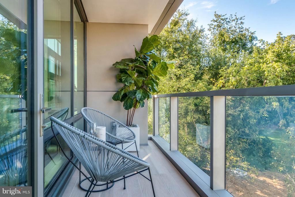 Balcony - 2501 M ST NW #411, WASHINGTON