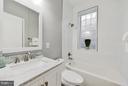 hall bath level 2 - 612 9TH ST NE, WASHINGTON