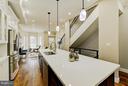 sleek  and open floor plan - 612 9TH ST NE, WASHINGTON