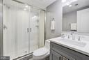 lower level full bath - 612 9TH ST NE, WASHINGTON