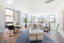 Living Room - 1628 11TH ST NW #109, WASHINGTON