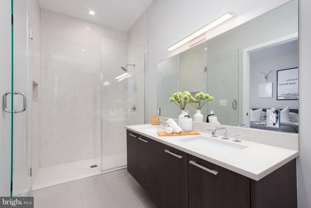 Master Bathroom - 1628 11TH ST NW #108, WASHINGTON