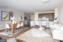 Living/Dining - 1628 11TH ST NW #103, WASHINGTON