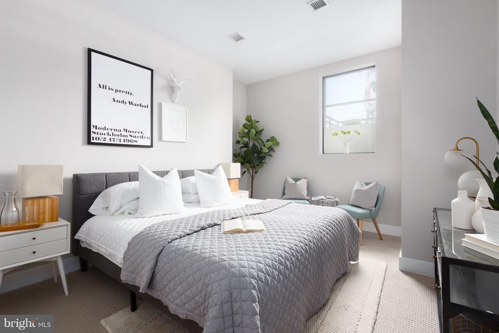 Master Bedroom - 1628 11TH ST NW #103, WASHINGTON