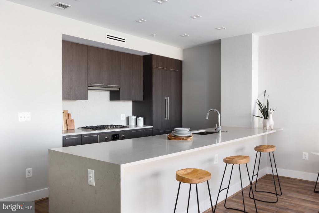 Kitchen - 1628 11TH ST NW #103, WASHINGTON