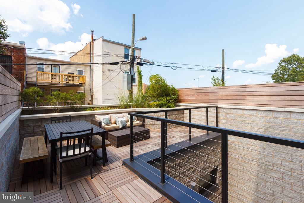 Exterior Terrace - 1628 11TH ST NW #108, WASHINGTON