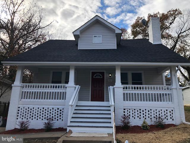 Front Exterier - 22 TUNIC AVE, CAPITOL HEIGHTS