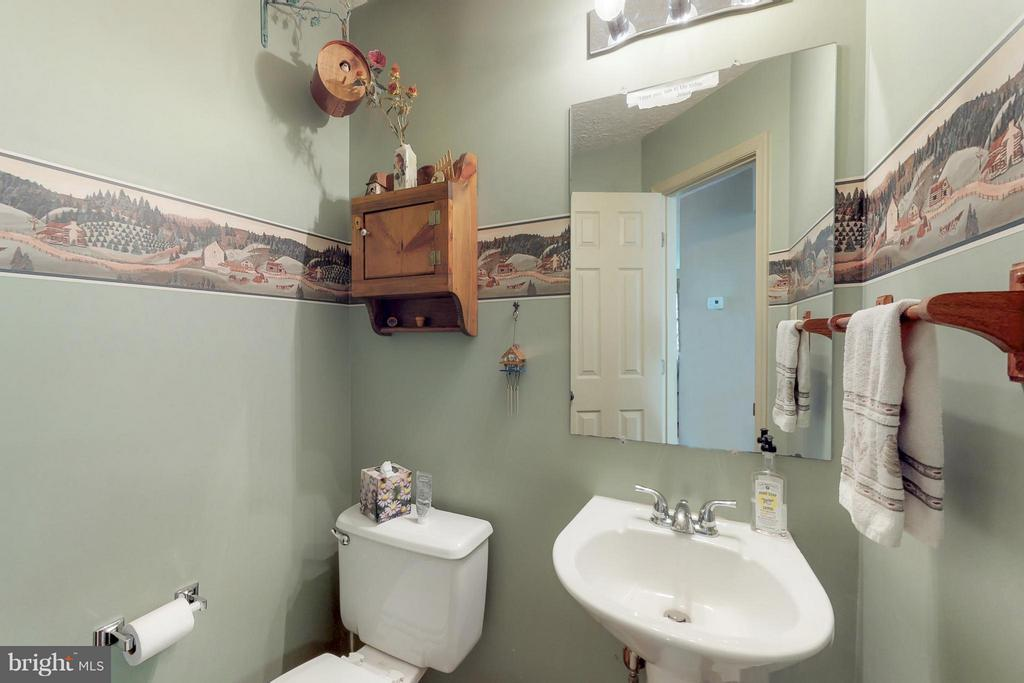 Powder Room on Main Level - 151 MORNING GLORY DR, WINCHESTER