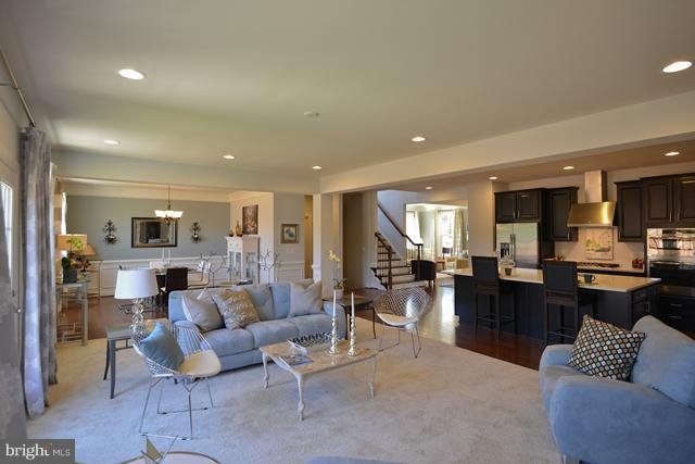 Family Room - Photo Similar to Home Being Built - 12604 GREENHOUSE VIEW LN #19A1, WOODBRIDGE
