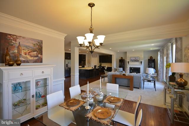 Dining Room - Photo Similar to Home Being Built - 12604 GREENHOUSE VIEW LN #19A1, WOODBRIDGE