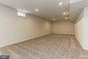 Basement Rec Room - 9403 BETTGE LAKE CT #1-3, LORTON