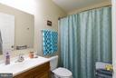 Hall full bath remodeled - 309 OAKRIDGE DR, STAFFORD