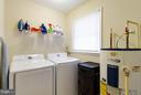 Laundry room is sizable with window - 309 OAKRIDGE DR, STAFFORD