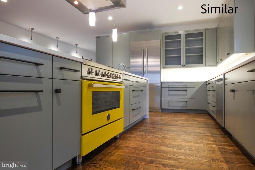Kitchen - 504 KINGSLEY RD SW, VIENNA
