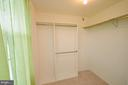 Master Bedroom with Walkin Closet - 1309 BEECH RD, STERLING