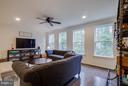 Living Room - 15818 STOKES LN, HAYMARKET
