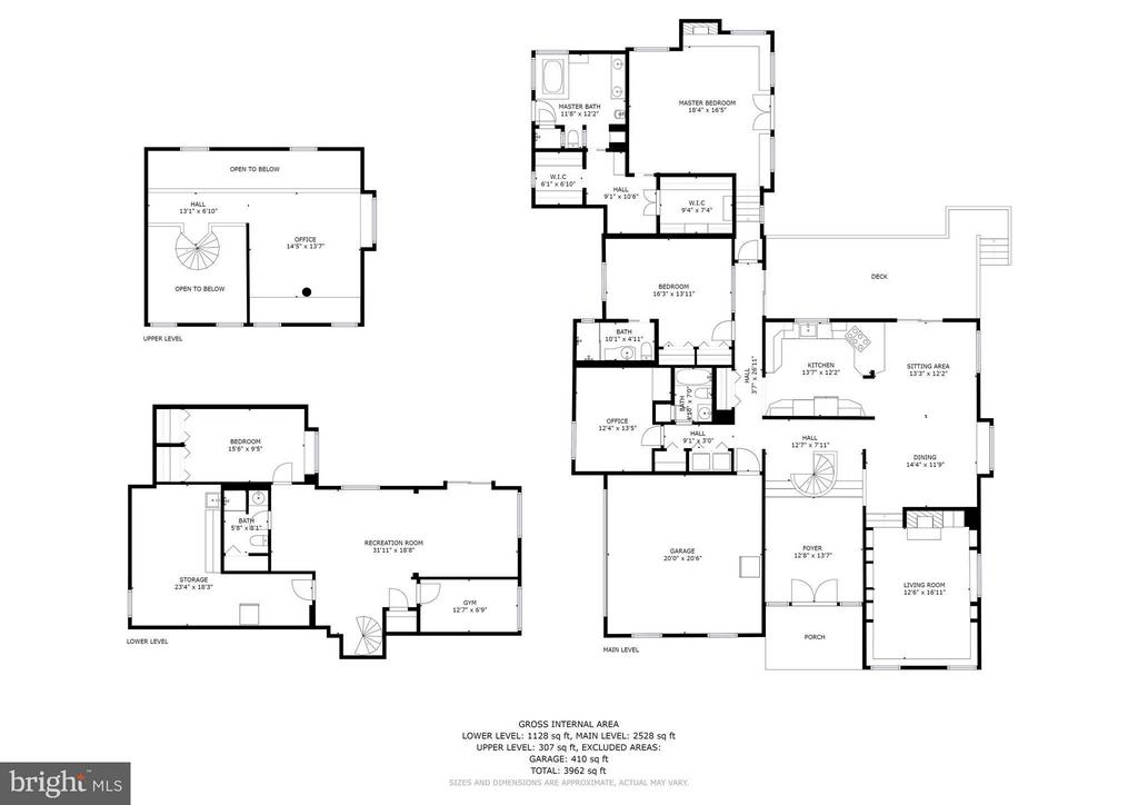 Happenspance House Floor Plan - 39434 SNICKERSVILLE TPKE, MIDDLEBURG